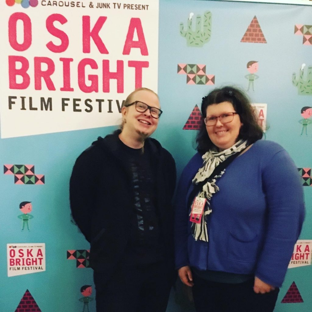 Hugo Karlsson och Hanna Björklund