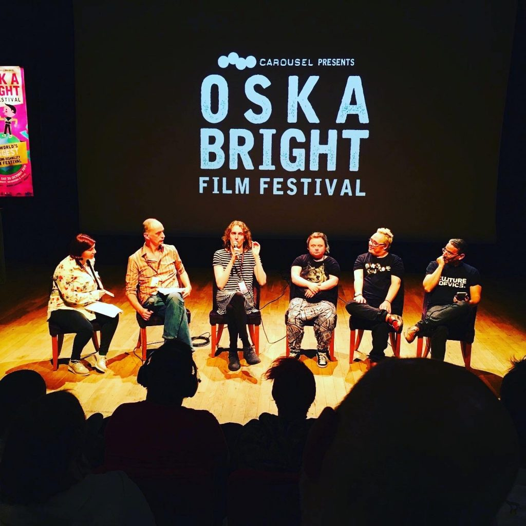 Panelsamtal under Oska Bright